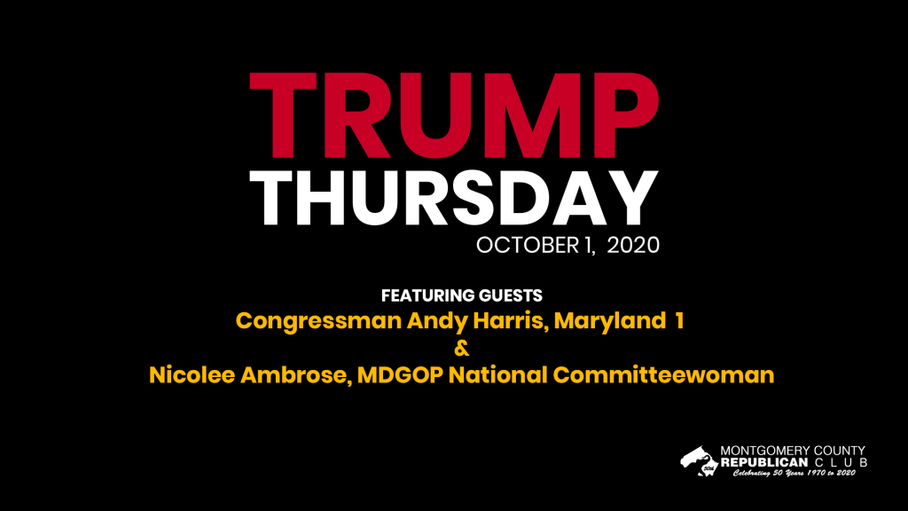 Trump Thursday October 1, 2020