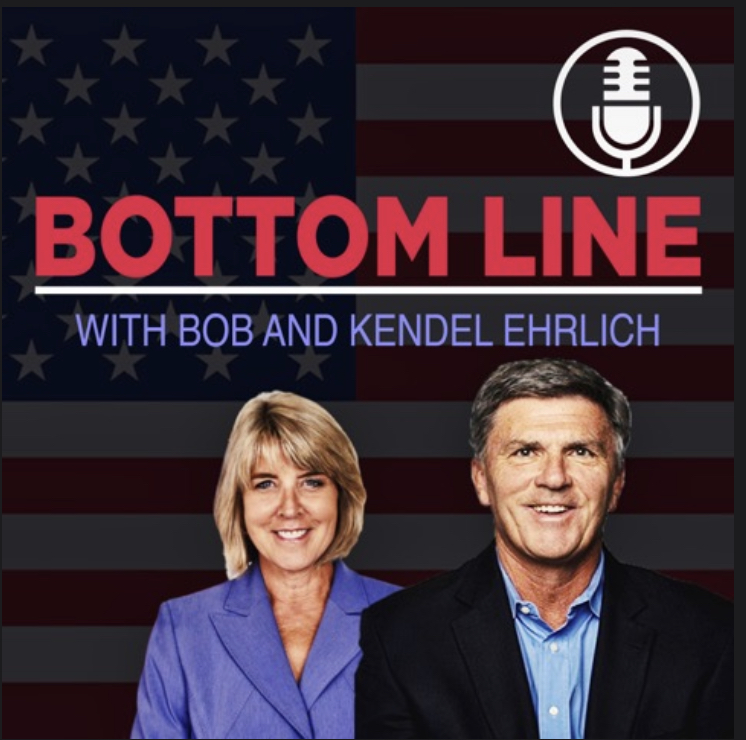 "Former Maryland Governor and First Lady Bob and Kendel Ehrlich are back to discuss their views on the current state of politics in America. The former First Family of Maryland turned successful radio show hosts of the ""Bob and Kendel Ehrlich Show"" are ready to bring their knowledge and personalities into the podcasting world with their show ""Bottom Line with Bob and Kendel Ehrlich."""