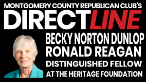 Becky Norton Dunlop Ronald Reagan Distinguished Fellow