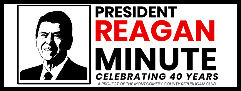 Reagan Minute Project Graphic