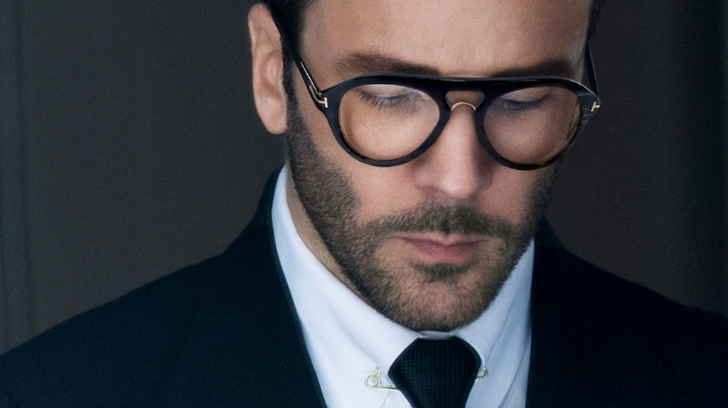 Tom Ford eyewear available at Montgomery Vision Care