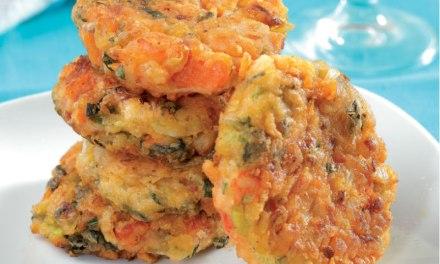 Santorini Tomato Fritters (Domatokeftedes Santorinis)
