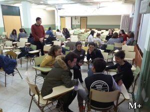 montilivi plus institut girona alumnes 3r preparen classe per alumnes intercanvi2