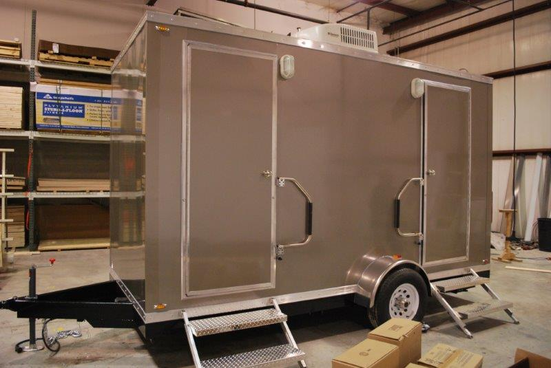 Do I Need A Luxury Portable Bathroom Trailer For My: Portable Restroom Trailers