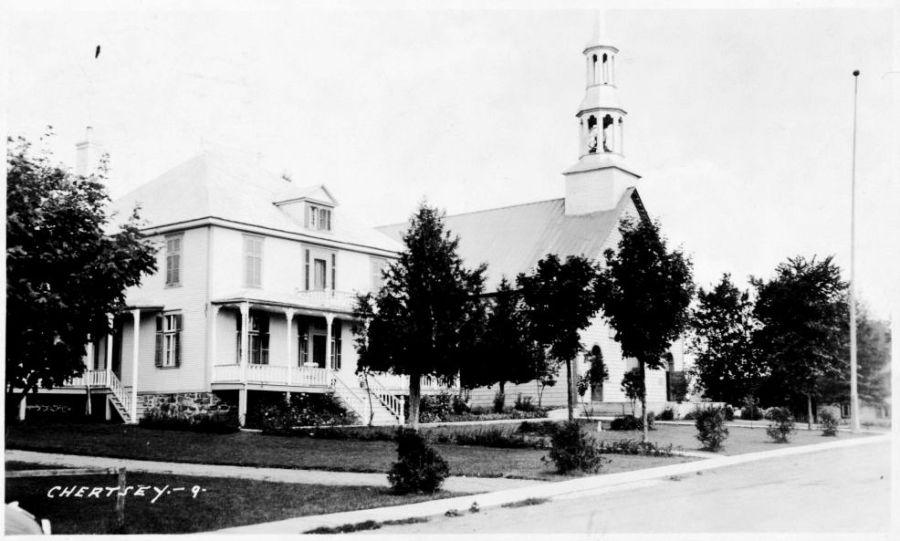 L'église et le presbytère