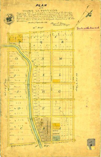 Le village Lafontaine 1852