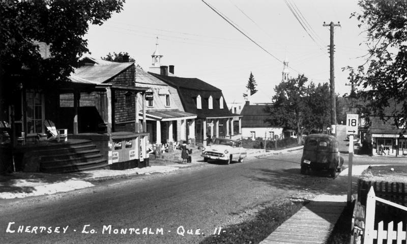 Rue de l'Église vers 1950