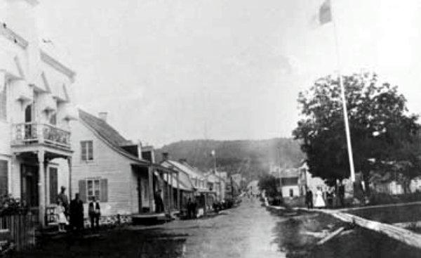 Rue de l'Église vers 1900
