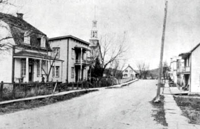 Rue de l'Église 1930-1940