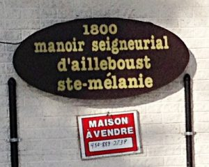 Le manoir Panet à Sainte-Mélanie