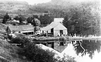 Le moulin de la rivière Burton, Chertsey