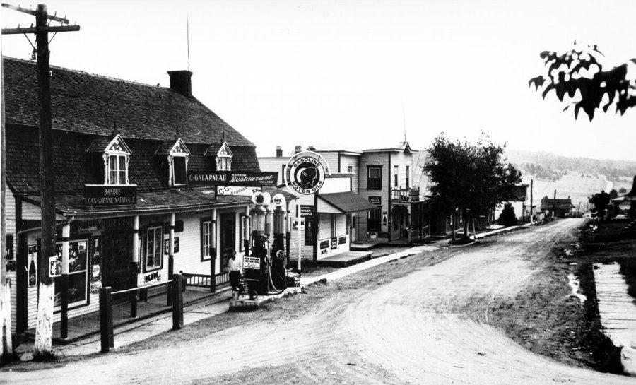 Le magasin général de Gaspard Galarneau