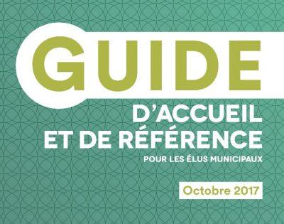 Guides de référence aux élus municipaux