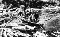 La barge des draveurs