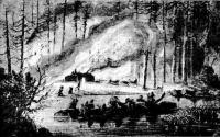 L'incendie au lac Saint-Jean
