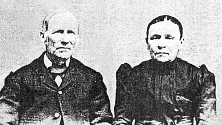 Ignace Dupuis, père, et son épouse Rachel Perreault, vers 1900