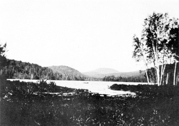 Partie du lac Paré en 1939