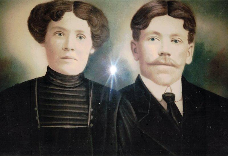 Clothilde Dupras et Joseph Miron