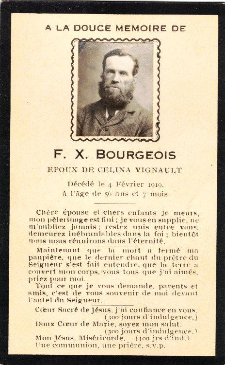 F. X. Bourgeois