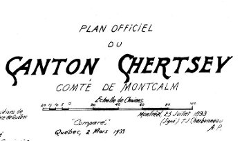 Plan officiel de Chertsey