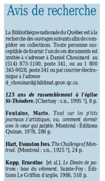 A rayons ouverts, janvier 2000