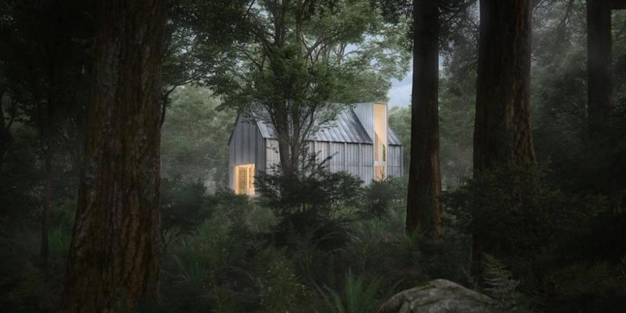 Beside Cabins: architecture