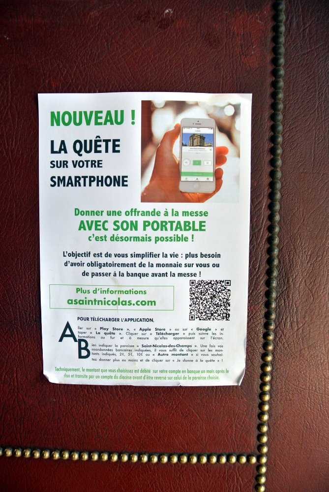 La quête sur votre smartphone