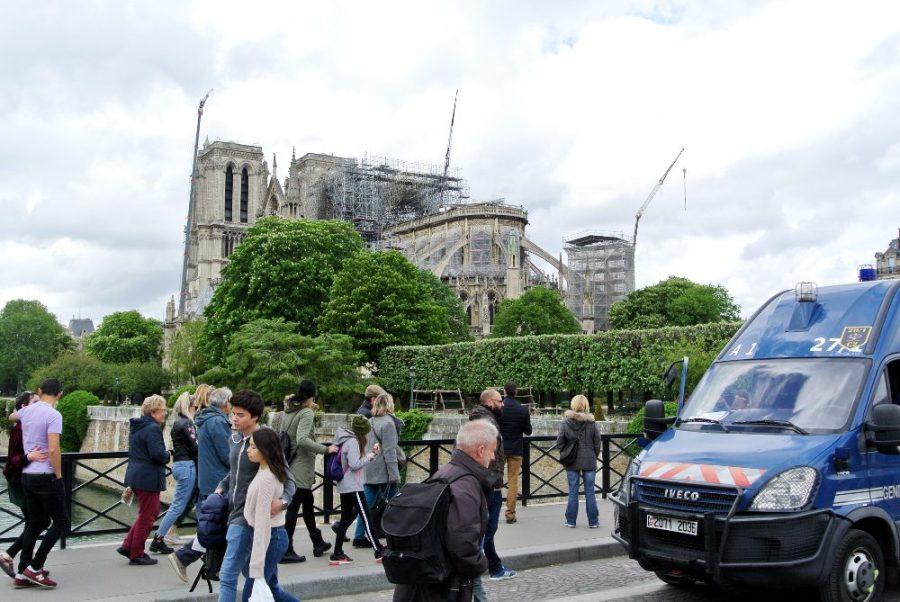 Notre-Dame de Paris, 25 avril 2019