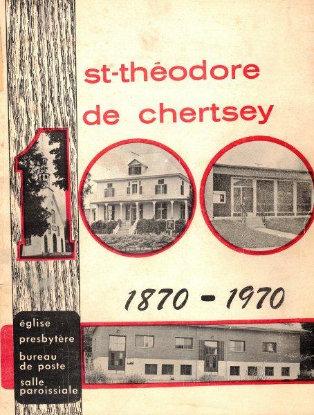 St-Théodore de Chertsey 1870-1970