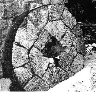 Meule du moulin (S. Riopel)