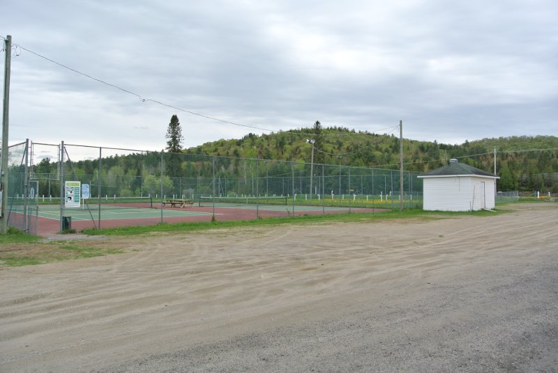 Le Parc Municipal: un terrain peu invitant