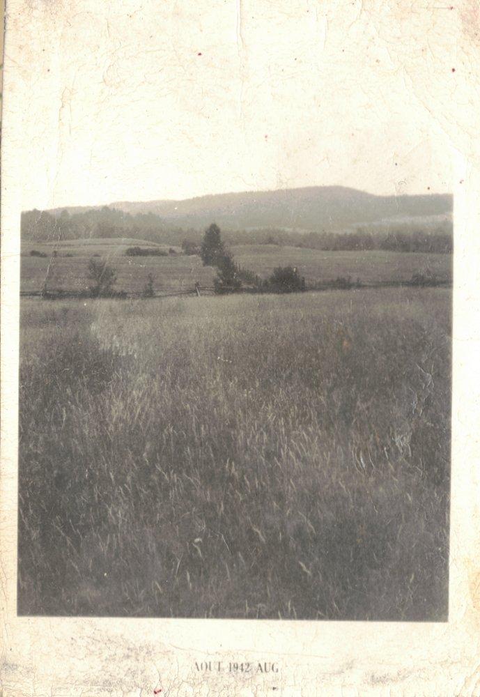 Photocopie d'une photo de la famille Rochon