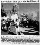 Le Soleil 21 août 1995