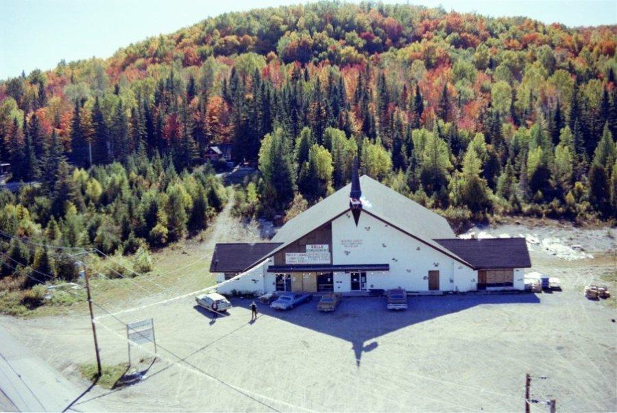 Chertsey 1978: La chapelle du pont du Gouvernement