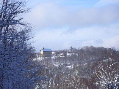 Le monastère de Chertsey