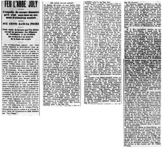 La Presse 1er mai1901