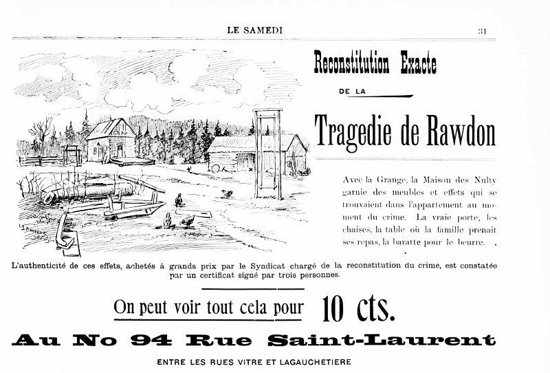 Musée Eden: la boucherie de Rawdon