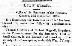 Montreal Herald 28 novembre 1837