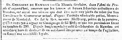 Le Populaire 7 février 1838