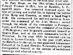 The Quebec Mercury 6 août 1850