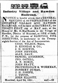 Montreal Herald 21 mai 1851