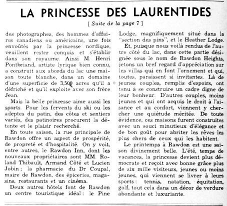 Le Samedi 27 mars 1948