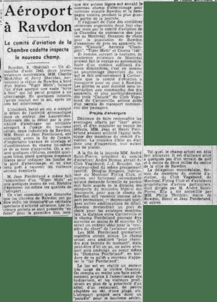 La Presse 9 août 1949