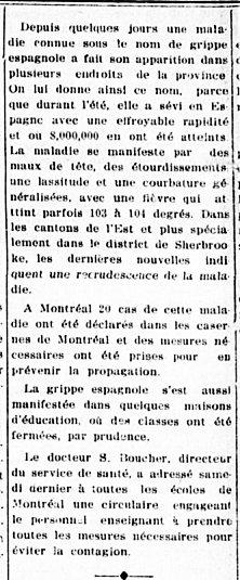 L'Étoile du Nord 3 octobre 1918