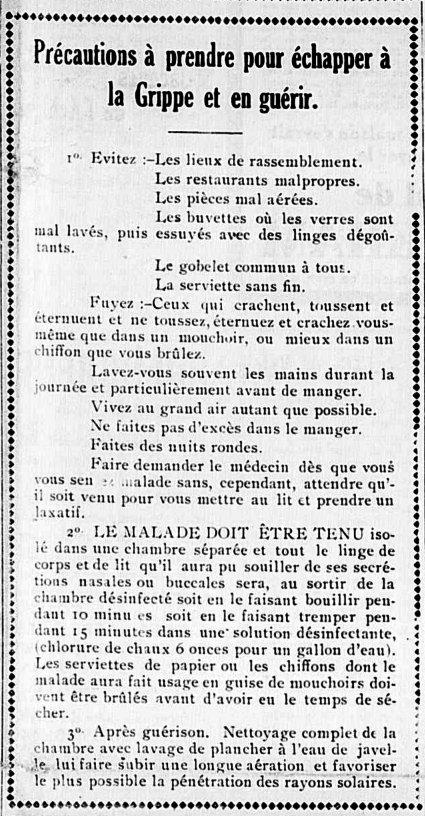 L'Étoile du Nord 12 février 1920
