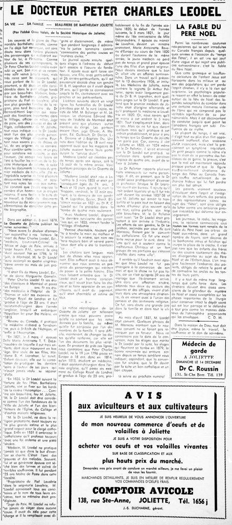 L'Action Populaire 11 décembre 1947