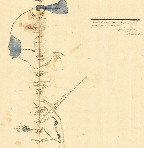Le nord de St-Donat - 1871