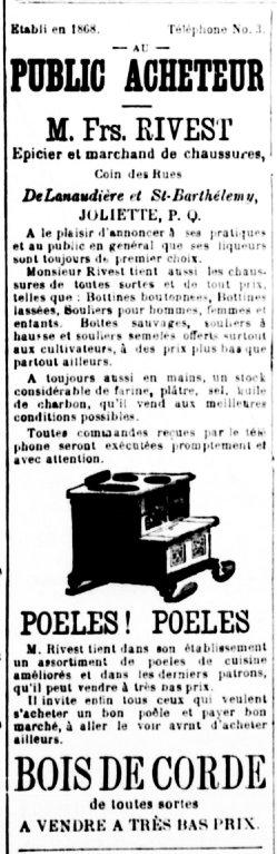 La Gazette de Joliette 16 juillet 1895