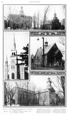 Édifices religieux Joliette 1913