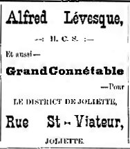 Joliette Illustré 1893